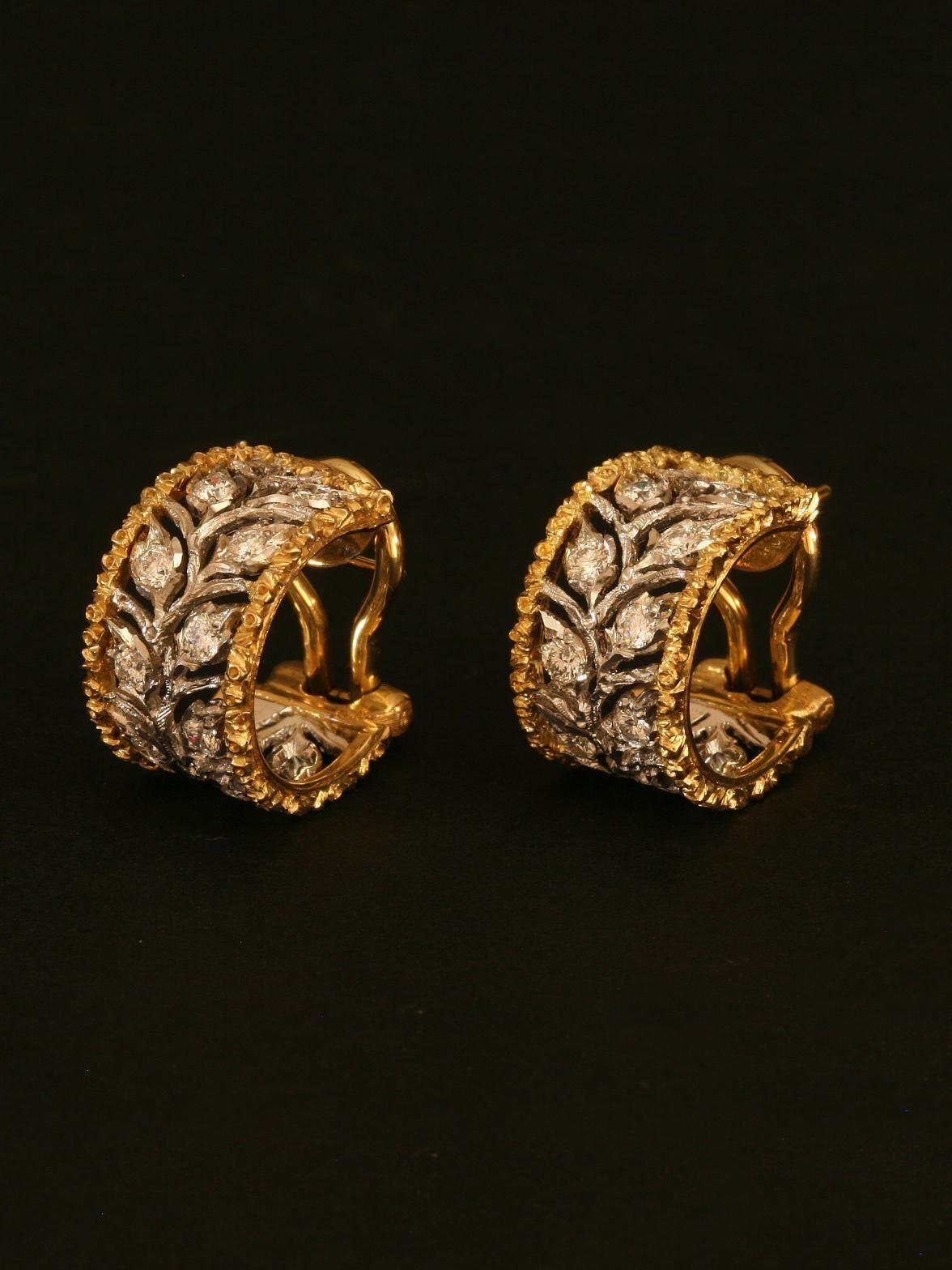 Dualshine Hoop Earrings