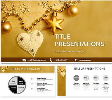 New Year and Christmas PowerPoint templates ImagineLayout - christmas powerpoint template