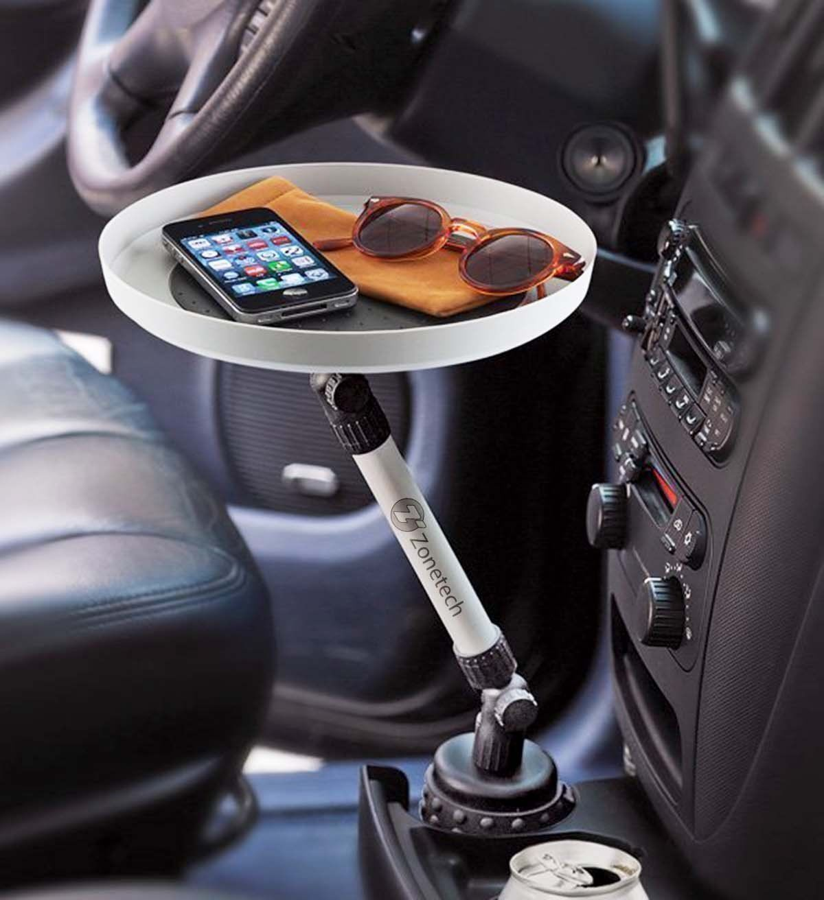 PORTABLE IN CAR VAN VEHICLE ASH TRAY CUP HOLDER CAMPING