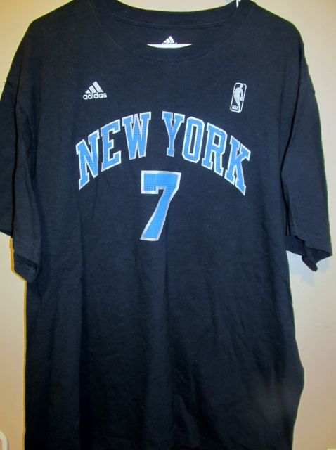 792cfd89c512 Adidas Carmelo Anthony New York Knicks jersey   shirt