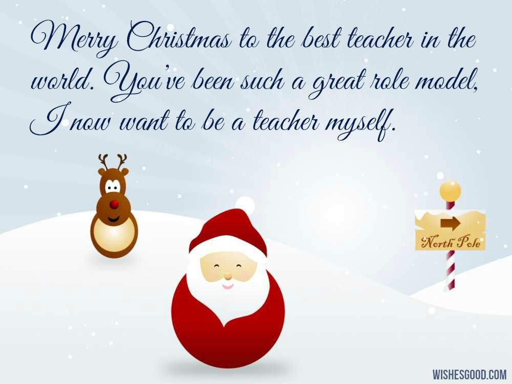 Christmas Wishes for Teachers | Merry Christmas Wishes & Images ...