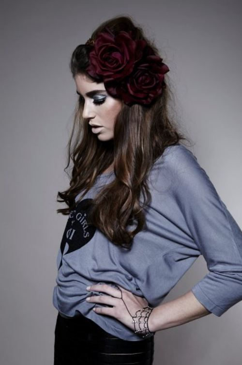 Arabella Floral Crown Fascinator Headband.
