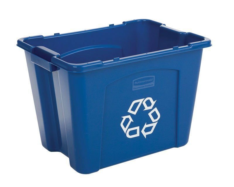 14 Gallon Trash Can Sets Commercial recycling bins