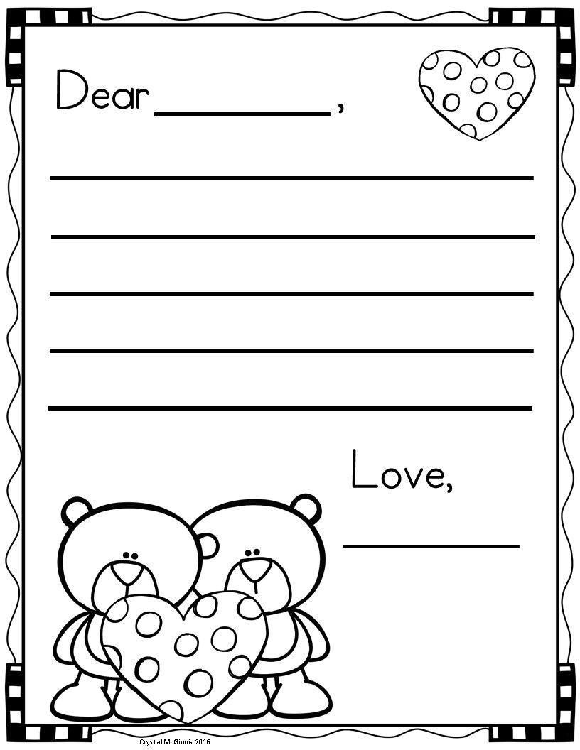 Free Valentine S Day Letter Writing Templates Ystavanpaiva