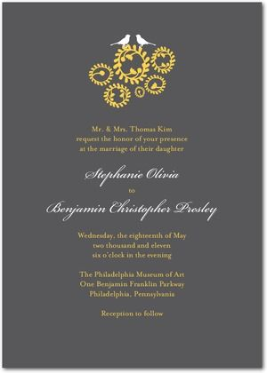 Modern Formal Invitations  Google Search  Card