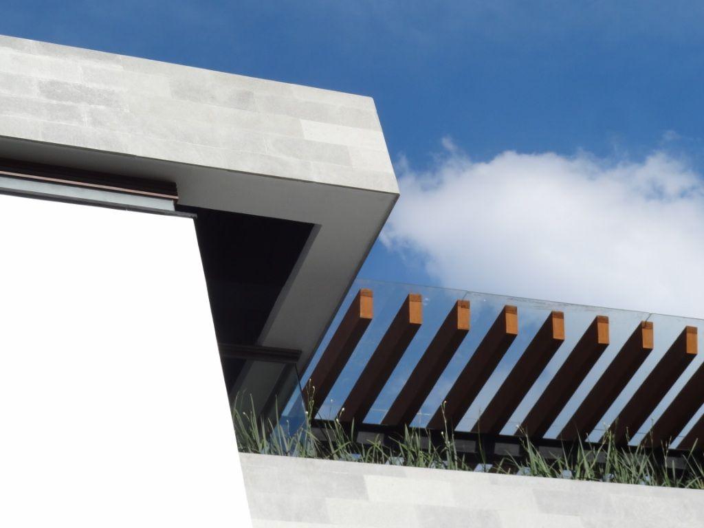 Detalles de volumenes con remate for Remate de terrazas