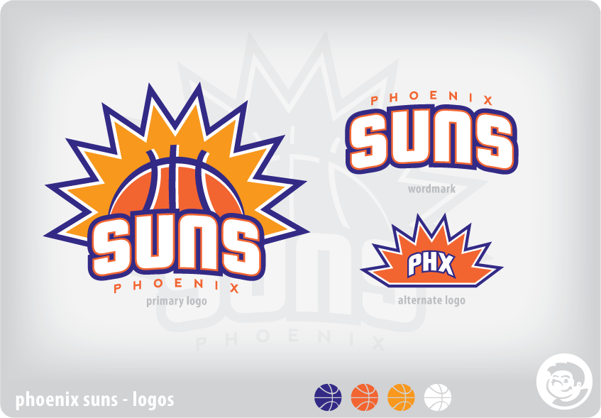 Phoenix Suns Rebrand Sun Logo Phoenix Suns Rebranding