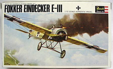 Boxart Fokker Eindecker E-III H645-50 Revell