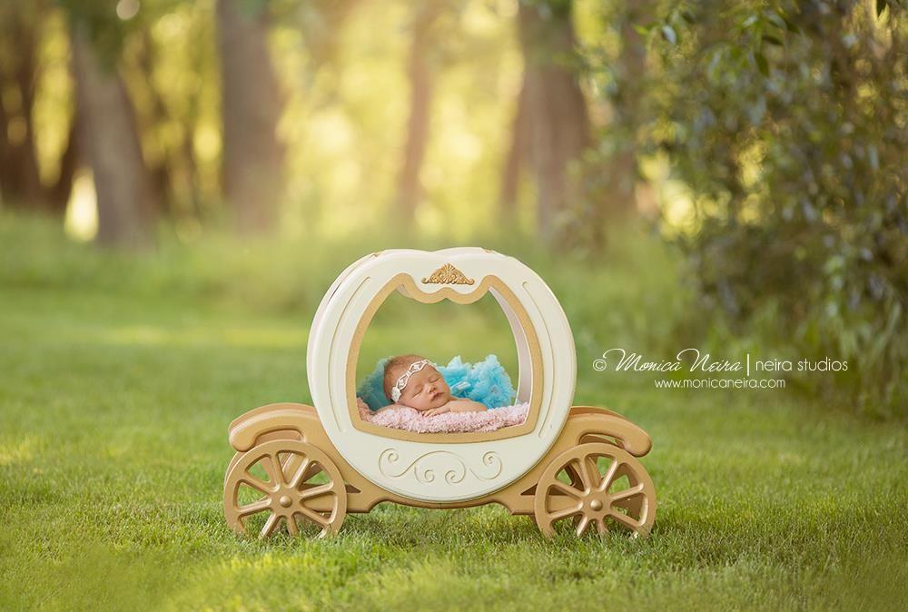 Princess carriage newborn photography props photo props etsy newborns cinderella pumpkins babys newborn babies