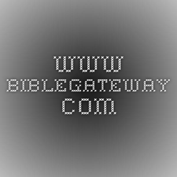 Www Biblegateway Com Online Math Human Body Activities