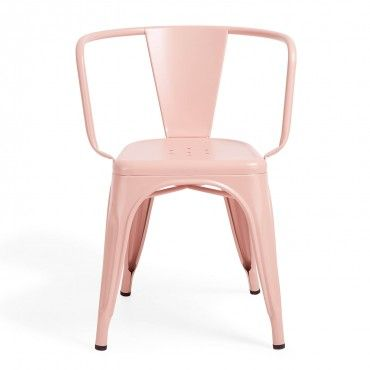 Tolix Pink A97 Armchair | beyond the pale | Pinterest | Armchairs ...