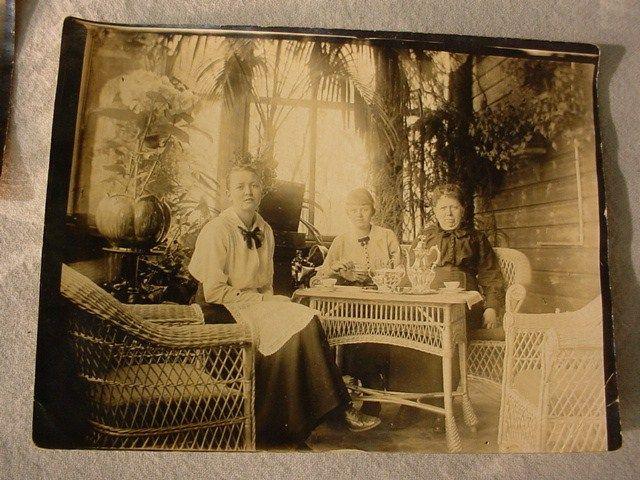 Antique Lot 3 PHOTOS 1890s 1910s Victorian House Interior