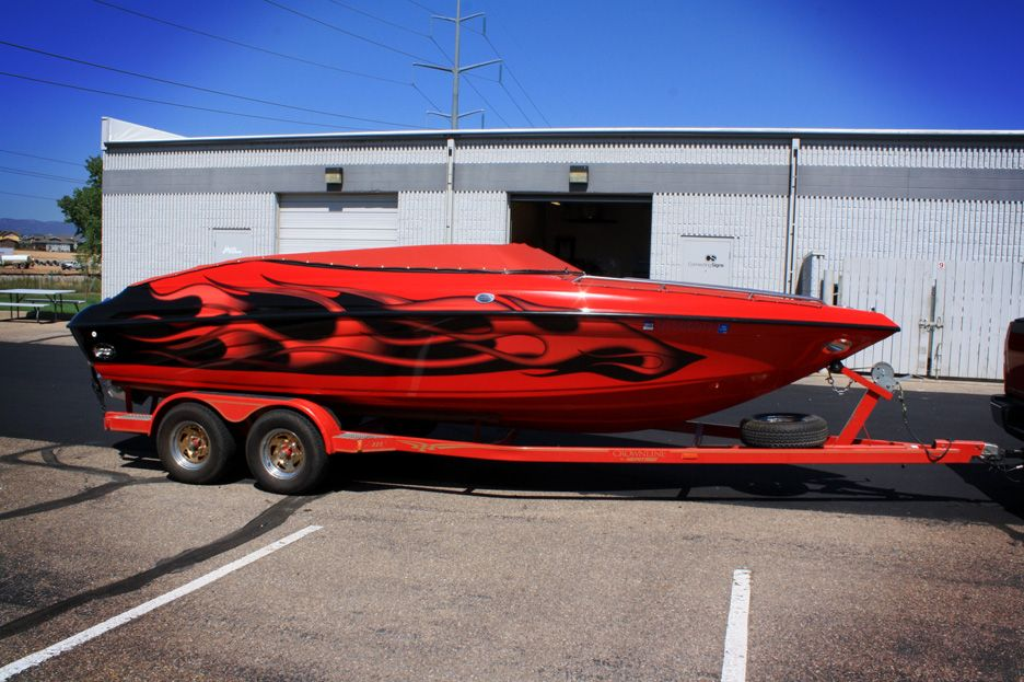Awesome Boat Wrap Done Right Boat Wraps Wakeboard