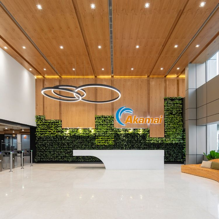 Technology Designs Akamai Technologies Office India Love That Design In 2020 Exposed Ceilings Design Interior Inspiration