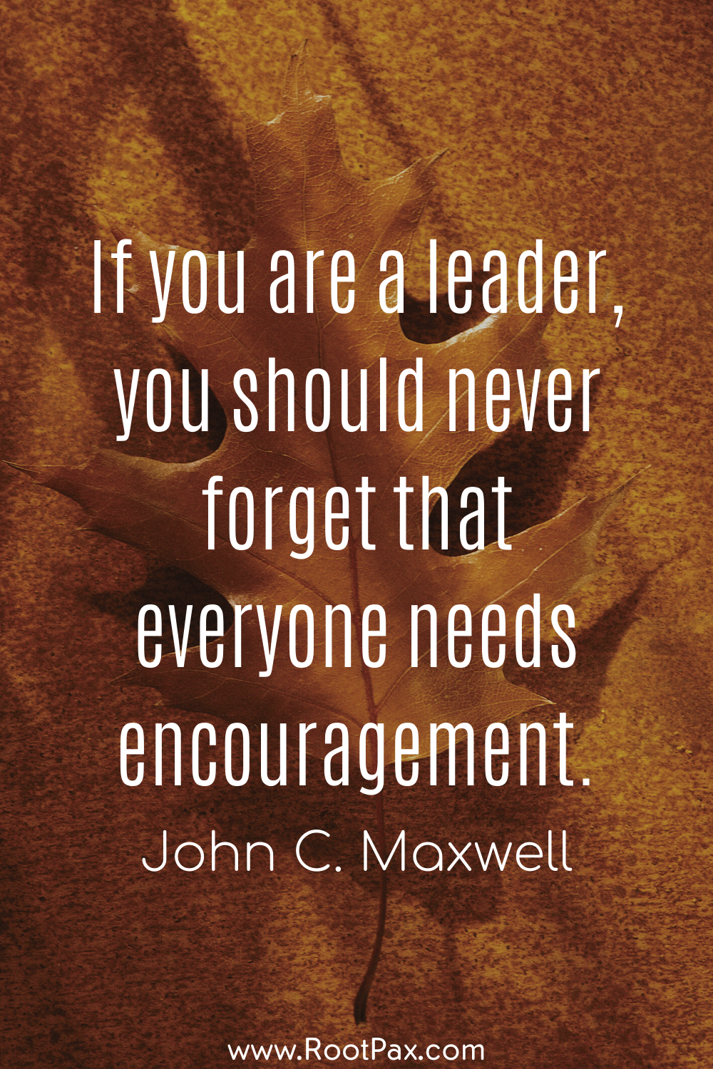 Leadership quote!
