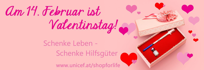 Schenke Leben Zum Valentinstag Www Unicef At Shopforlife Special