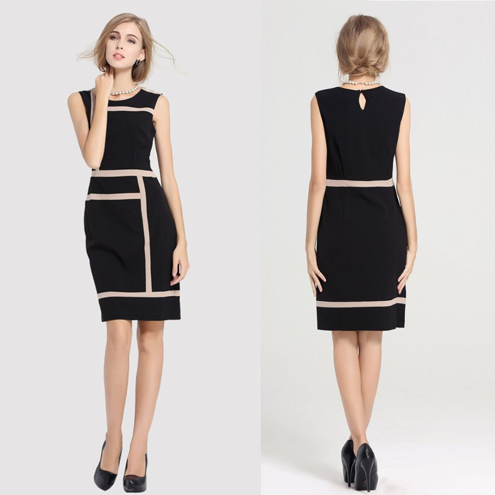 Fashion Womens Slimming Design Office Work Dress Prom