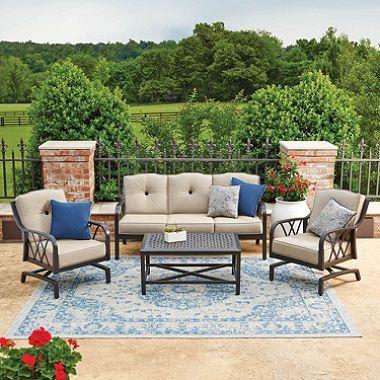 Member S Mark Millers Creek Sunbrella Seating Set Patio