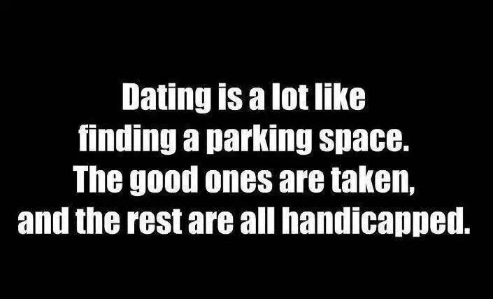 Finding A Lot Parking A Is Space Dating Like
