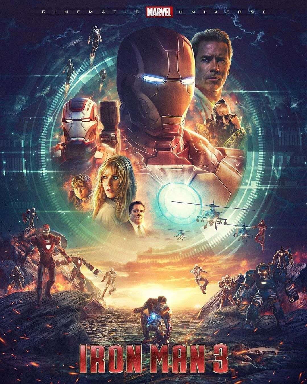 6 369 Likes 16 Comments Marvel Official New Avengers On Instagram Iron Man 3 Art Cred Marvel Iron Man Iron Man Poster Iron Man 3 Poster