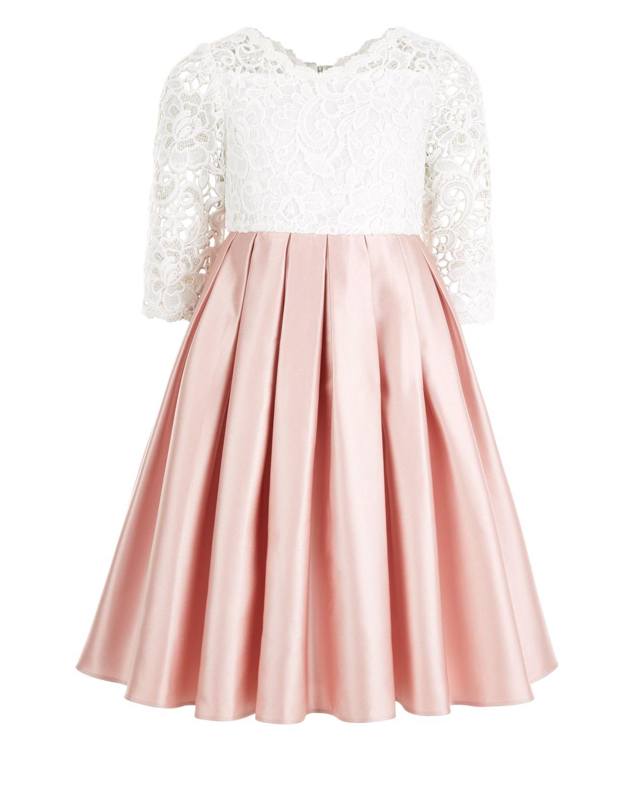 Audrey Dress | Pink | Monsoon/Flower Girl Dress