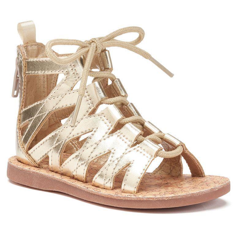 5c28201c04a1 OshKosh B gosh® Priya 2 Toddler Girls  Gladiator Sandals