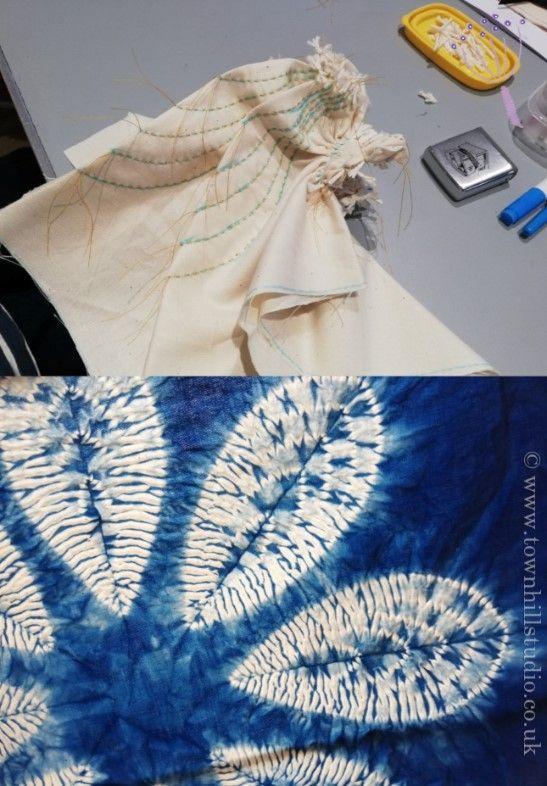The inside story on a summer shibori weekend workshop