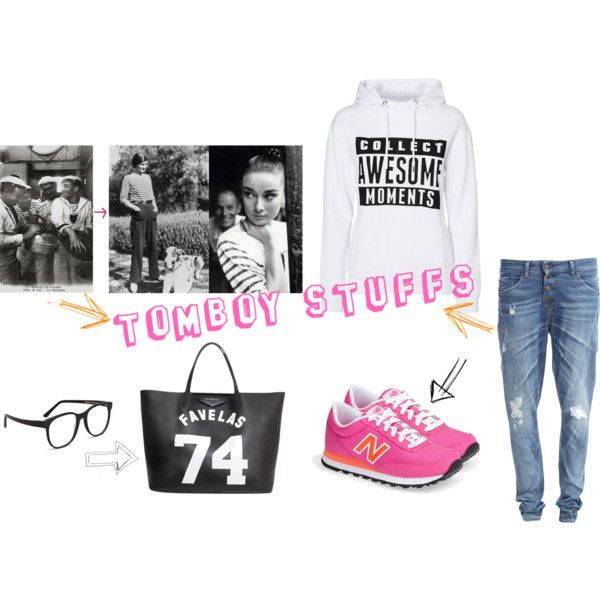 """TomBoy Stuffs"" by sunisa-bu on Polyvore"