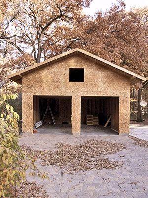 Real Life Garage Redo Building A Garage Detached Garage Designs Detached Garage