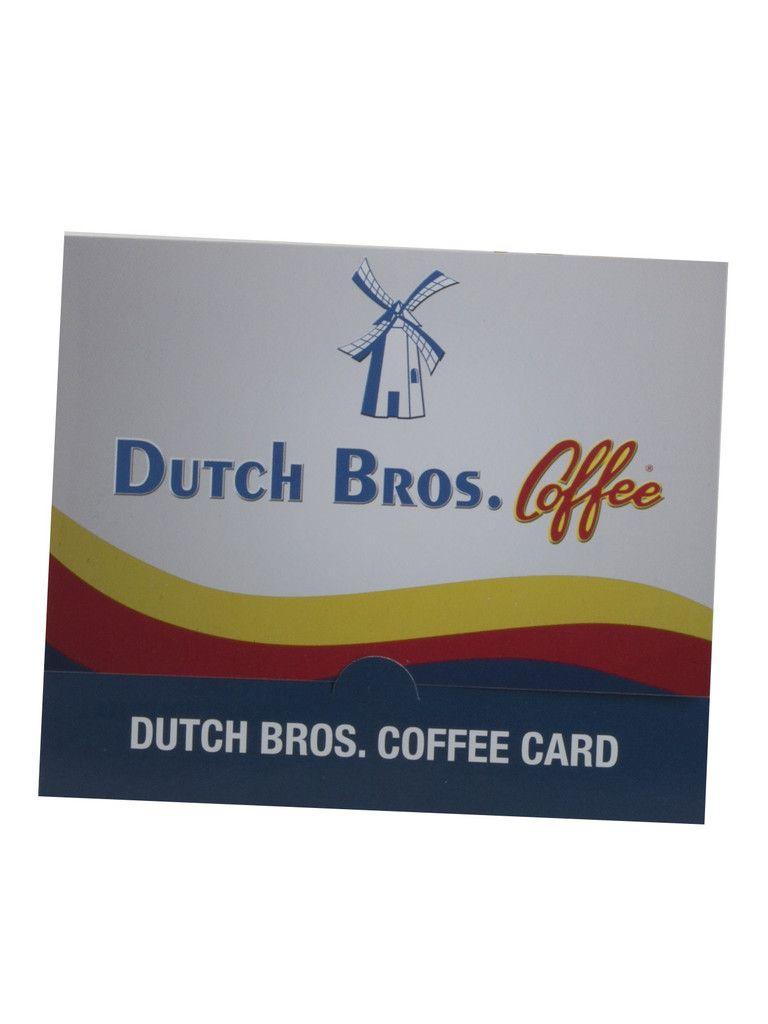 Dutch bros coffee gift card coffee gifts card dutch
