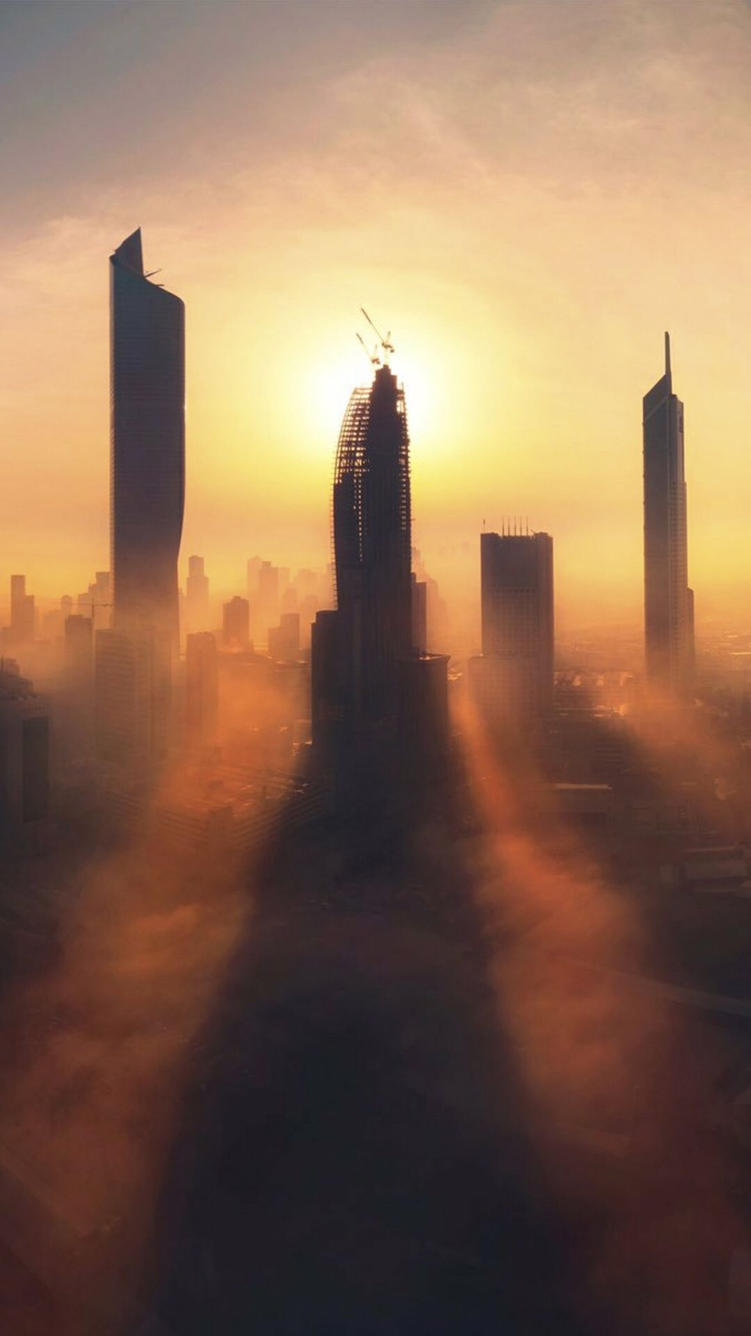 City skyscrapers wallpaper for your iPhone XS from Vibe
