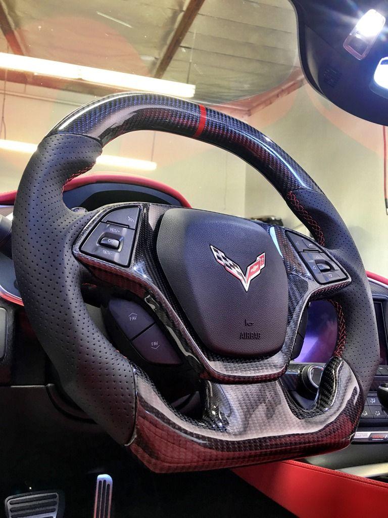 Z06 Viper Red Steering Wheel Upgrade Corvetteforum Chevrolet
