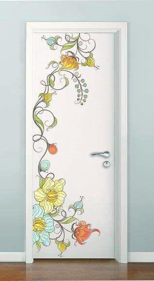Pin By Heather Sakall Bowen On Proyectos Que Intentar Diy Interior Doors Painted Doors Wall Paint Designs