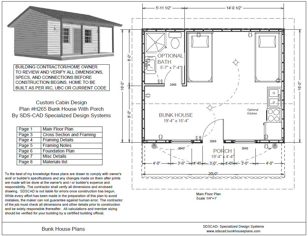 Store Bunkhouse Plans Bunk House Structure Architecture Cottage Living