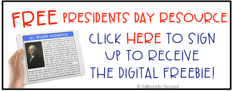 FREE Presidents Day resources!