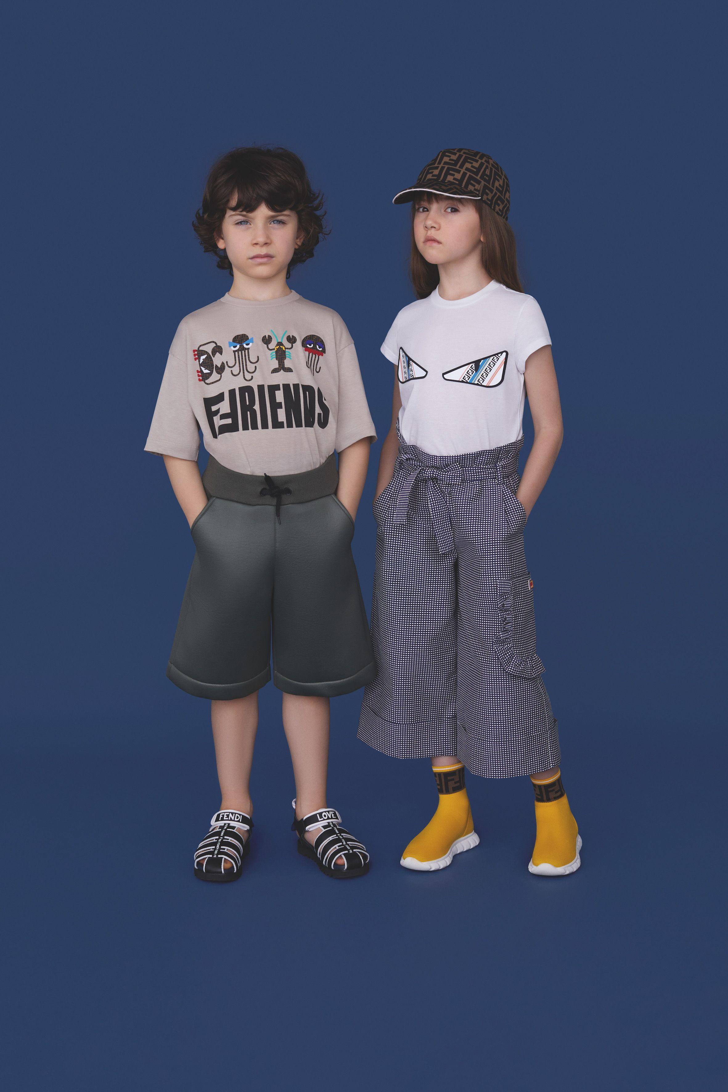 b5d409c1ea3c9 Fendi Kids Spring Summer 2019 Collection