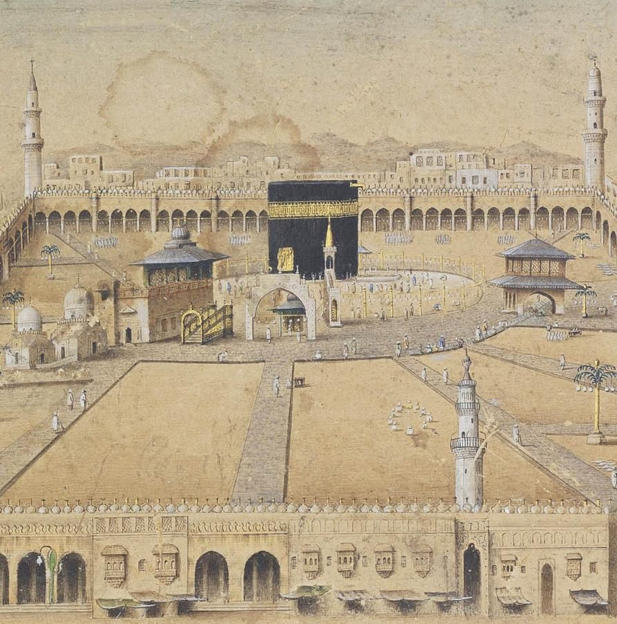 A Panoramic View Of Mecca In Ottoman Period 19th Mecca Panoramic Mecca Madinah