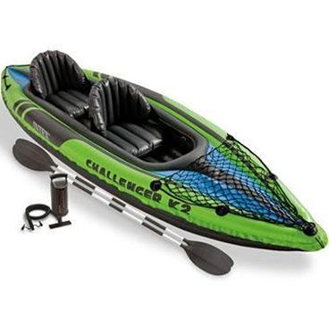 Intex Challenger K2 Kayak Review Best Fishing Kayak Reviews Rating Inflatable Kayak Kayaking Best Fishing Kayak
