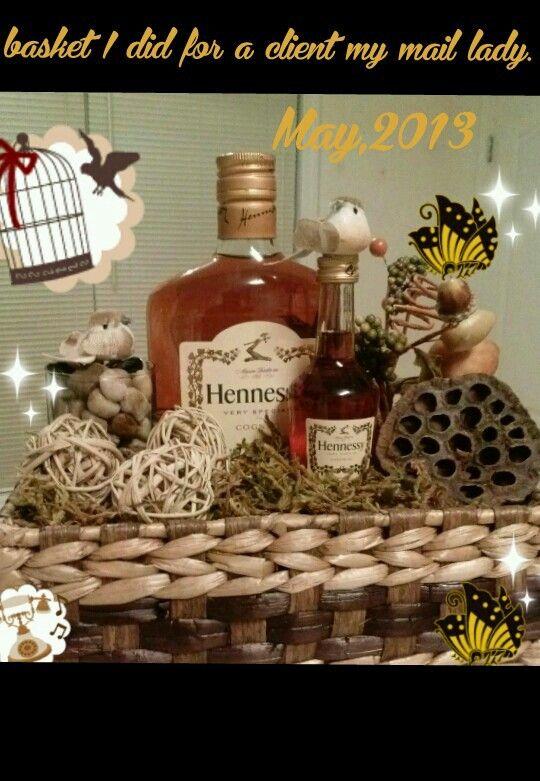 Hennessy Gift Basket