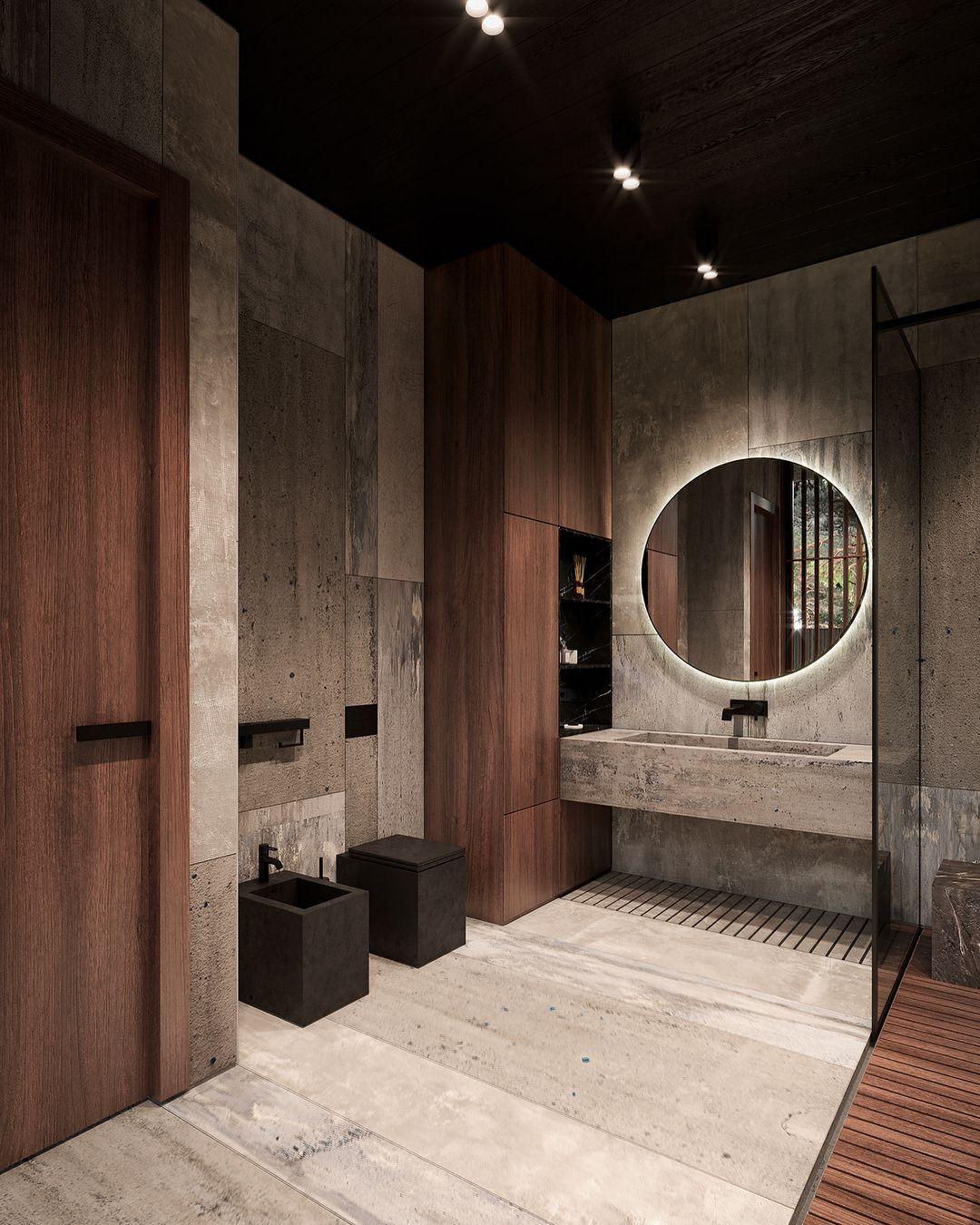 Roma House Bathroom By Buro511 Interiores De Casa Rustica