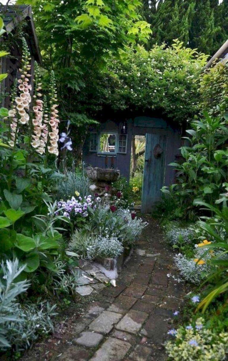 45 Beautiful Pinterest Garden Decor Ideas Gardenideas Small Cottage Backyard Landscaping