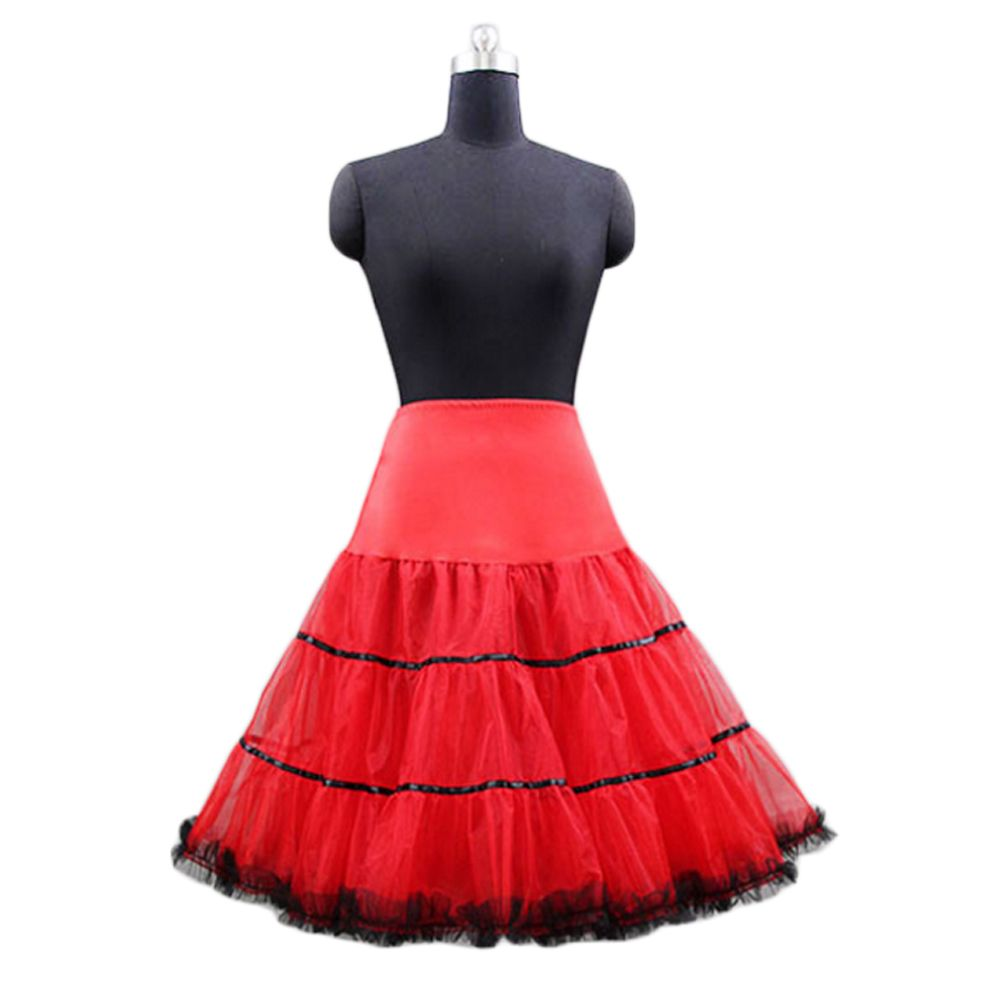 fee2456d4c 2017 Cheap Tutu Petticoats Tulle Underskirt Short Skirts for Wedding ...