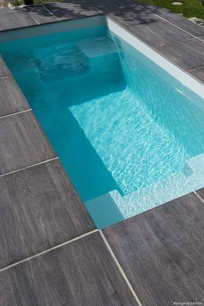 mini pool garten minimalistisch modern badewanne Garten und - schwimmbad im garten