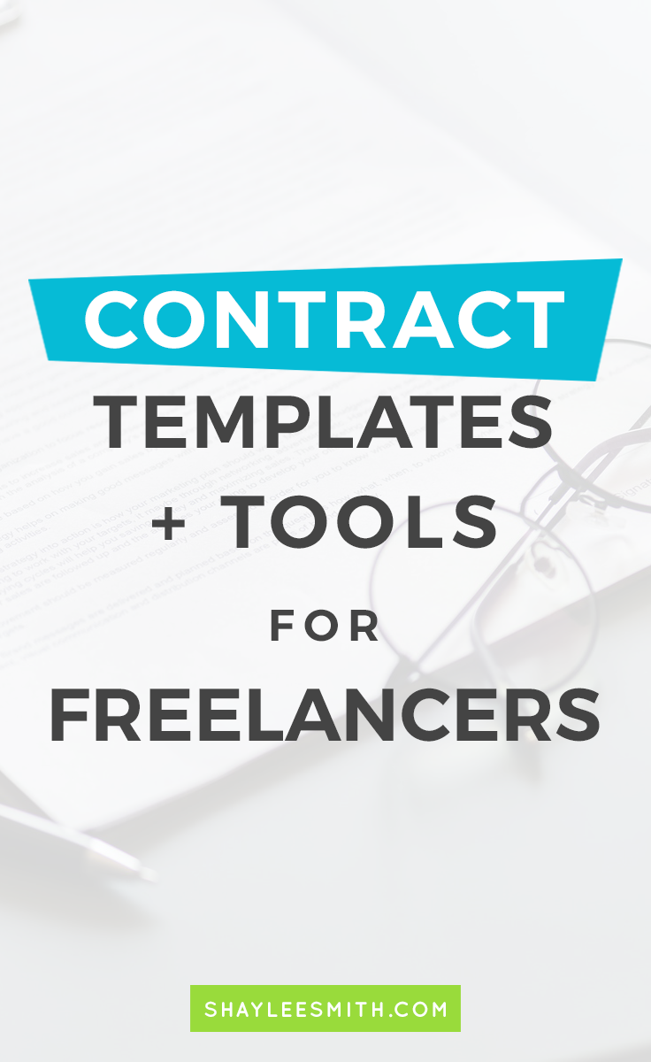 009 Contract Templates + Tools for Freelancers Freelance