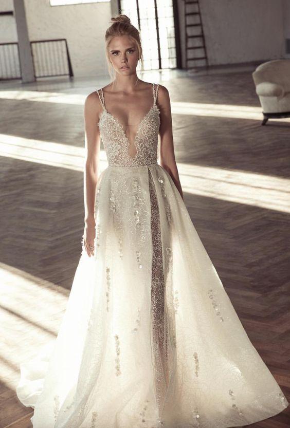 Plunge Wedding Dress D6ff68