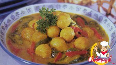 Resep Hidangan Lauk Acar Telur Kuning Club Masak Masakan Indonesia Masakan Telur