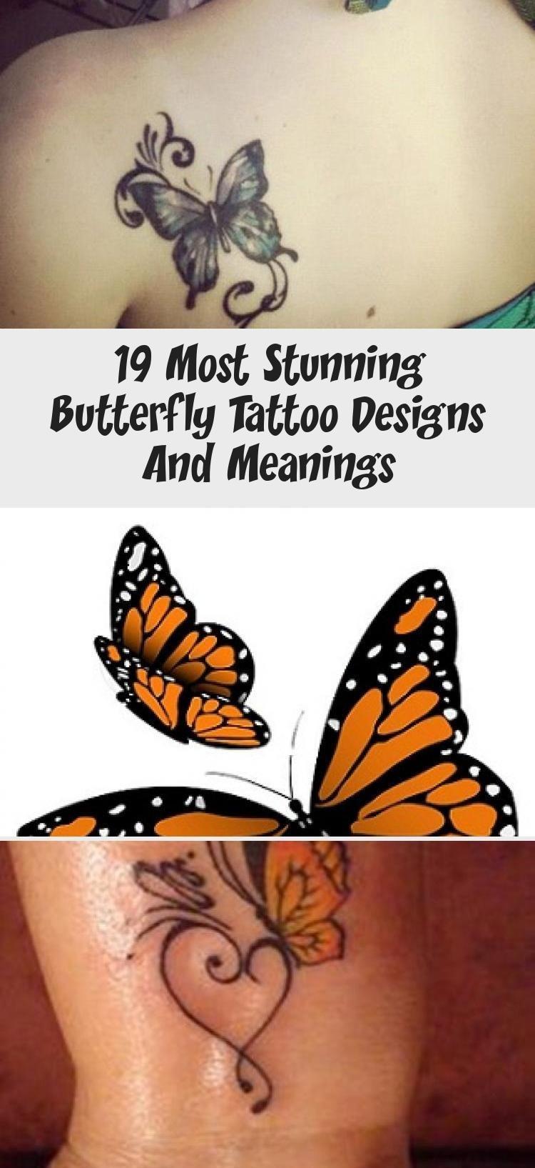 Photo of Dekoration İdeen –  19 atemberaubendsten Schmetterling Tattoo Designs und Bedeu…