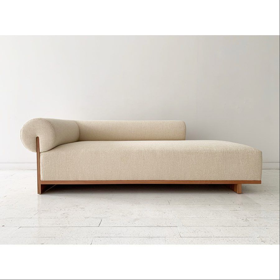 Chaise Lounger In Tineo Twill Now On View Colonydesign Swipe To See Backside Furniture Sofa Design Interior Furniture