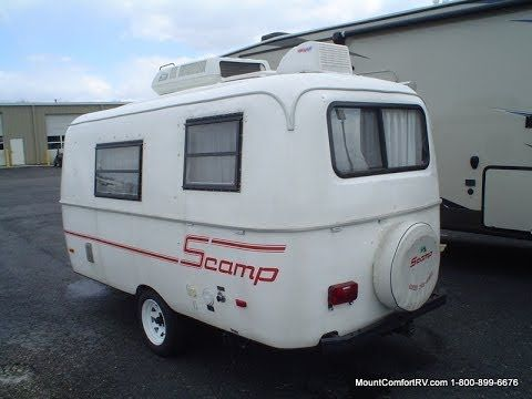 Pre Owned 2000 Scamp 16 Travel Trailer Video Tour Rv Trailers