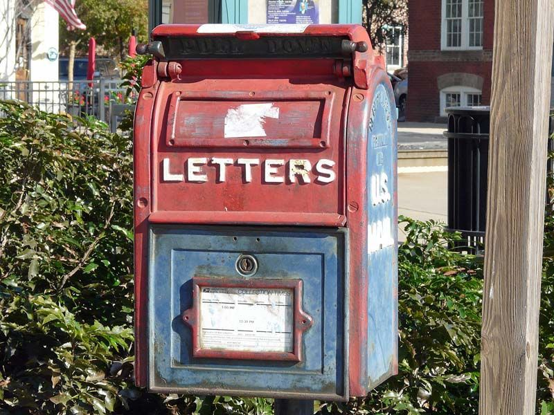 cool mailboxes for sale. Red And Blue Mailbox Cool Mailboxes For Sale